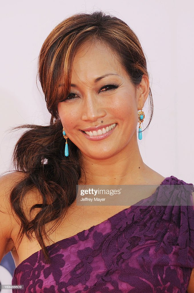 Carrie Ann Inaba arrives at the 64th Primetime Emmy Awards at Nokia Theatre L.A. Live on September 23, 2012 in Los Angeles, California.