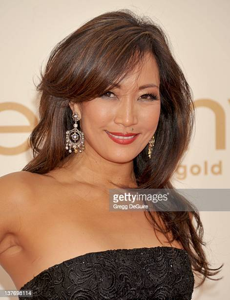 Carrie Ann Inaba arrives at the Academy of Television Arts Sciences 63rd Primetime Emmy Awards at Nokia Theatre LA Live on September 18 2011 in Los...