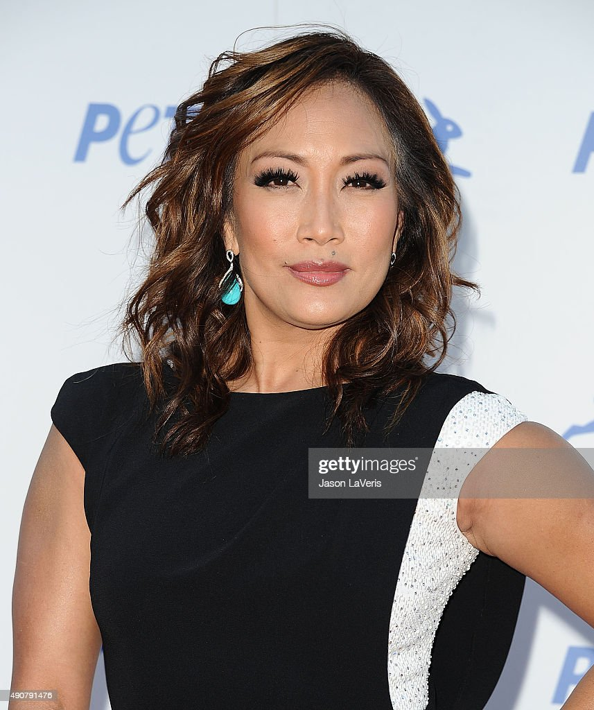 Carrie Ann Inaba attends PETA's 35th anniversary party at Hollywood Palladium on September 30 2015 in Los Angeles California