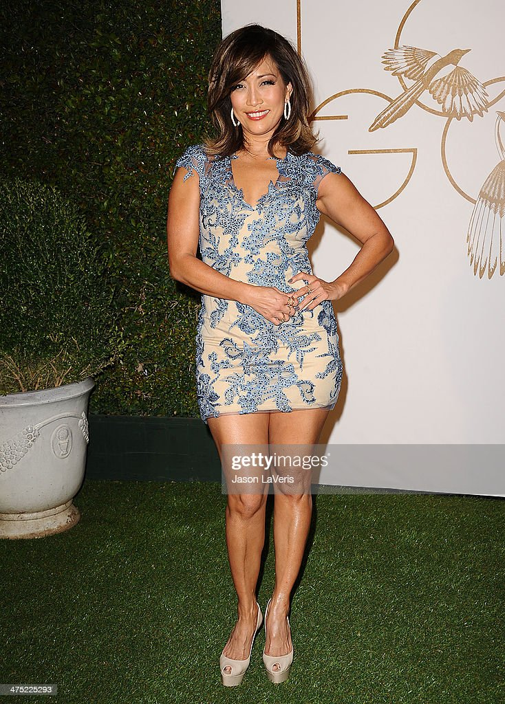 Carrie Ann Inaba attends the LoveGold event at Chateau Marmont on February 26 2014 in Los Angeles California