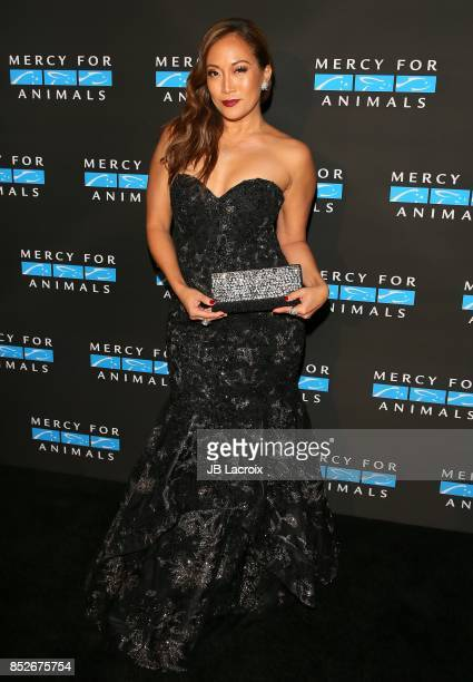 Carrie Ann Inaba attends the Mercy For Animals' Annual Hidden Heroes Gala on September 23 2017 in Los Angeles California