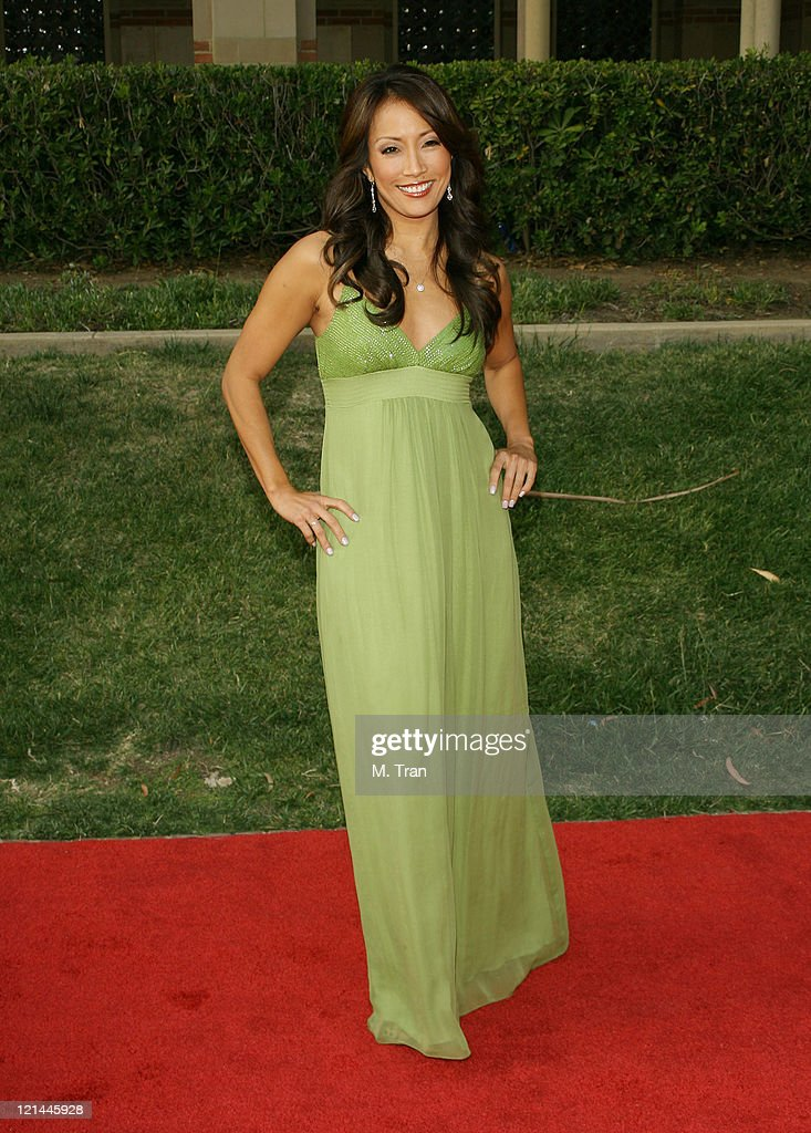 Carrie Ann Inaba during 2007 AZN Asian Excellence Awards Arrivals at Royce Hall UCLA Campus in Westwood California United States