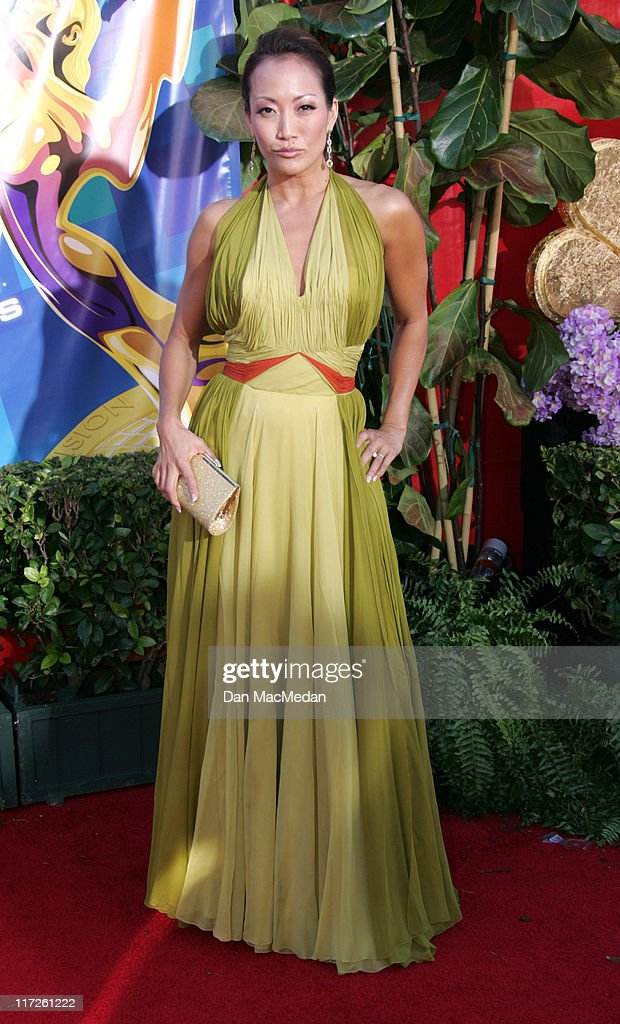 Carrie Ann Inaba during 58th Annual Primetime Emmy Awards Arrivals at Shrine Auditorium in Los Angeles California United States