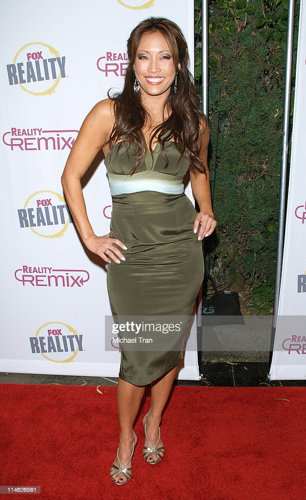 Carrie Ann Inaba during Fox Reality Presents 'The Reality Remix Really Awards' Arrivals at Les Deux in Hollywood California United States
