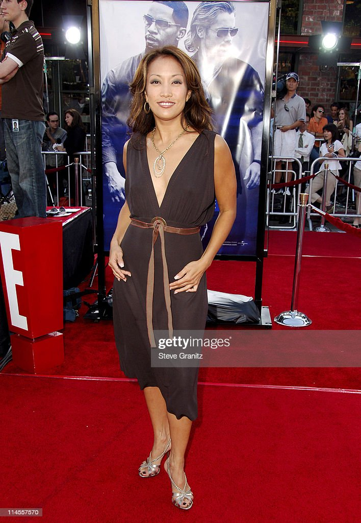 Carrie Ann Inaba during 'Miami Vice' Los Angeles Premiere Arrivals at Mann Village in Westwood California United States
