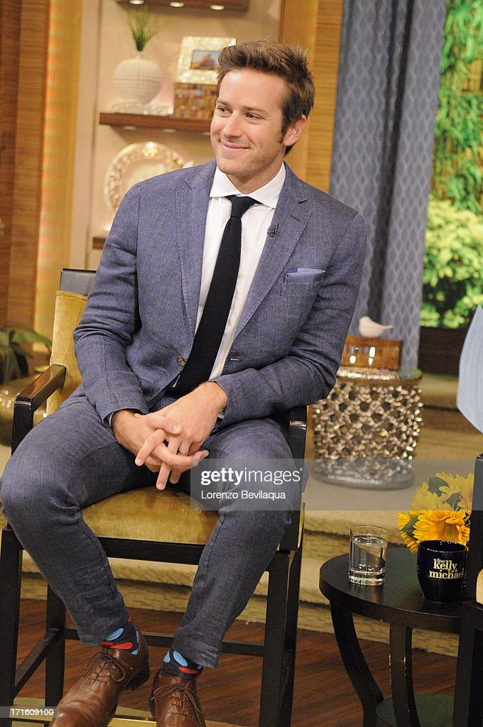 MICHAEL -6/24/13 - Carrie Ann Inaba is Michael's co-host and 'Lone Ranger' star Armie Hammer is a guest on 'LIVE with Kelly and Michael,' distributed by Disney-ABC Domestic Television. ARMIE
