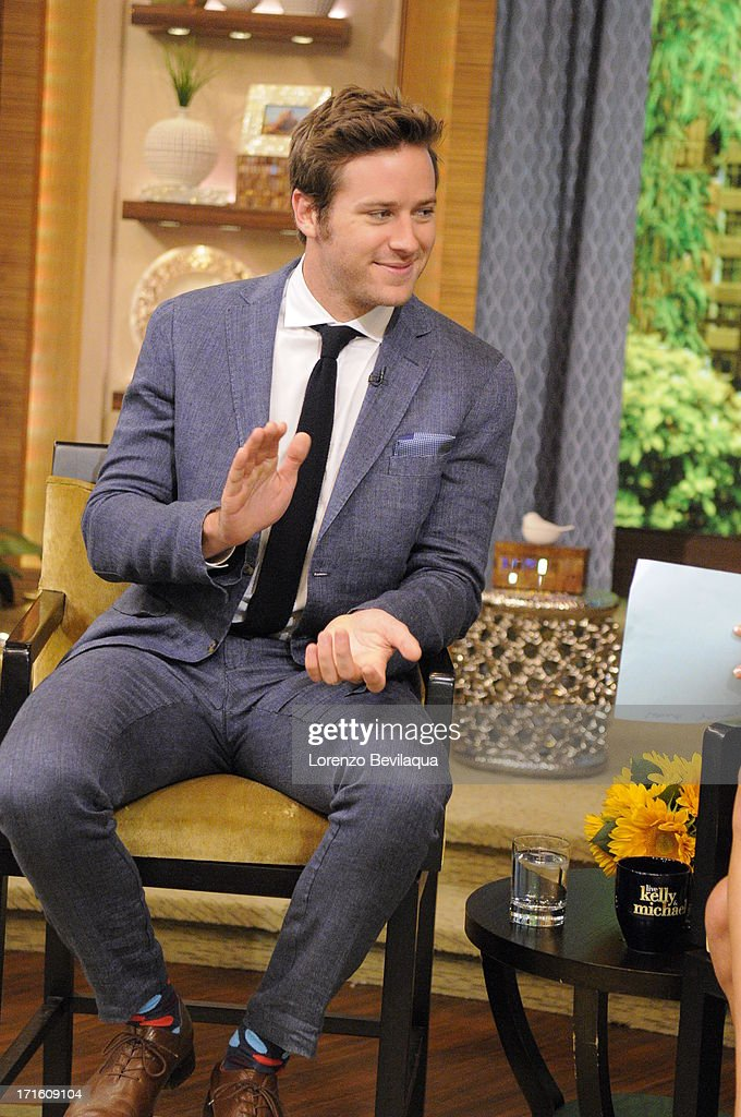 MICHAEL -6/24/13 - Carrie Ann Inaba is Michael's co-host and 'Lone Ranger' star Armie Hammer is a guest on 'LIVE with Kelly and Michael,' distributed by Disney-ABC Domestic Television. HAMMER