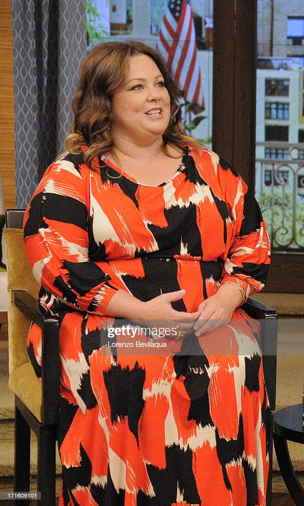 MICHAEL -6/24/13 - Carrie Ann Inaba is Michael's co-host and Melissa McCarthy stops by today on 'LIVE with Kelly and Michael,' distributed by Disney-ABC Domestic Television. MELISSA