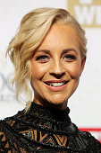 Carrie Bickmore arrives at the 58th Annual Logie Awards at Crown Palladium on May 8 2016 in Melbourne Australia