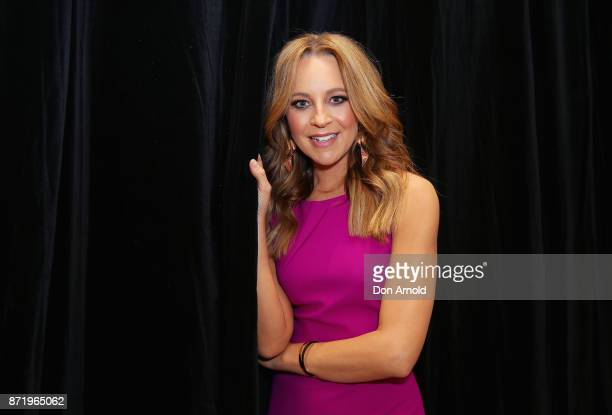 Carrie Bickmore poses during the Network Ten 2018 Upfronts on November 9 2017 in Sydney Australia