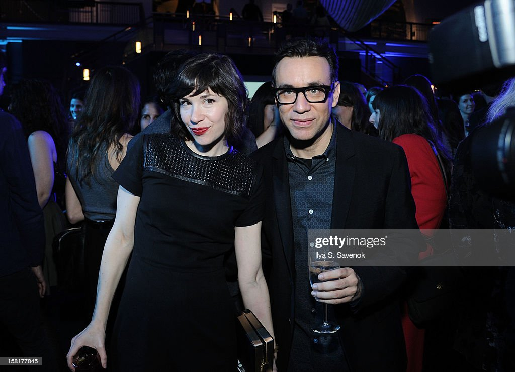 Carrie Brownstein and Fred Armisen attend IFC's 'Portlandia' Season 3 New York Premiere at American Museum of Natural History on December 10 2012 in...