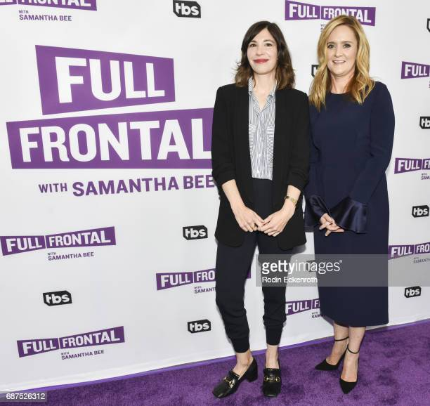 Carrie Brownstein and Samantha Bee attend the TBS' 'Full Frontal With Samantha Bee' For Your Consideration Event at Samuel Goldwyn Theater on May 23...