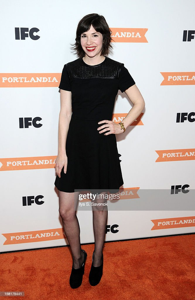 Carrie Brownstein attends IFC's 'Portlandia' Season 3 New York Premiere at American Museum of Natural History on December 10, 2012 in New York City.