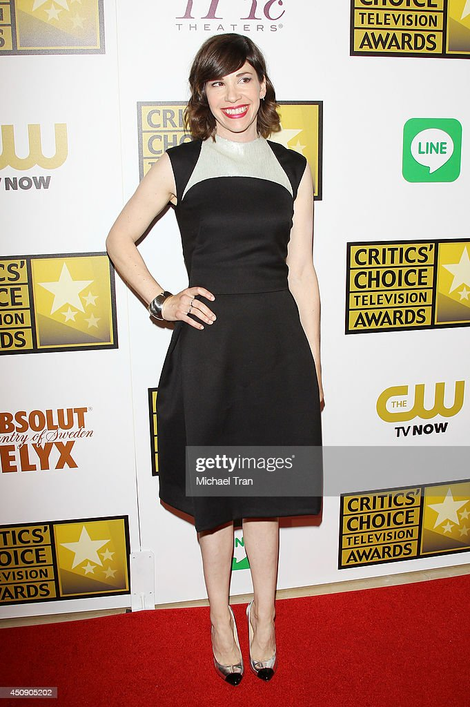 Carrie Brownstein attends the press room at the 4th Annual Critics' Choice Television Awards held at The Beverly Hilton Hotel on June 19 2014 in...