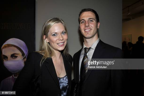 Carrie Clyne and Juan Carlos Stolberg attend Active Liberty Institute presents 'IDENTITIES' ART PARTY at Phillips de Pury Company on May 4 2010 in...