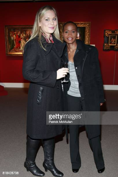 Carrie Clyne Deborah Pierre attend The Economist and Sotheby's Present 'The Art Of Collecting Art' at Sotheby's on January 21 2010 in New York City
