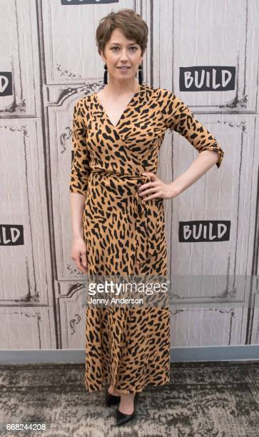 Carrie Coon attends AOL Build Series to discuss 'Fargo' and 'The Leftovers' at Build Studio on April 13 2017 in New York City