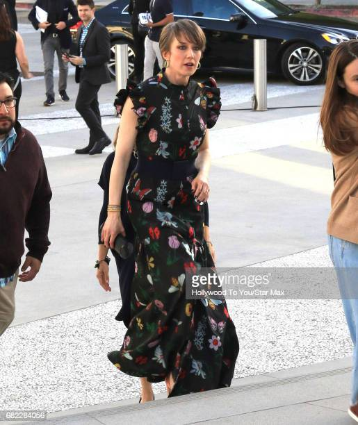 Carrie Coon is seen on May 11 2017 in Los Angeles CA
