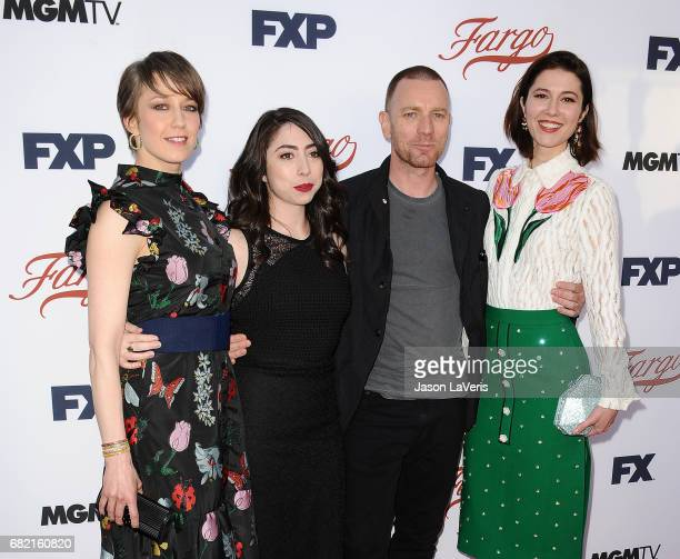Carrie Coon Olivia Sandoval Ewan McGregor and Mary Elizabeth Winstead attend the 'Fargo' For Your Consideration event at Saban Media Center on May 11...