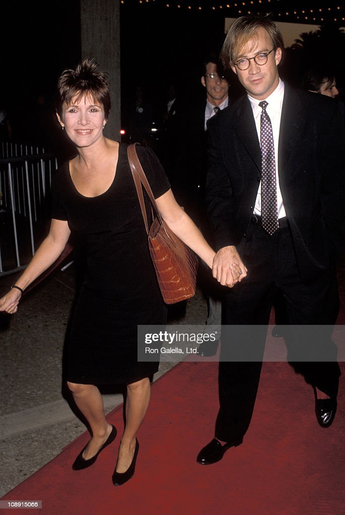 Carrie Fisher and Bryan Lourd
