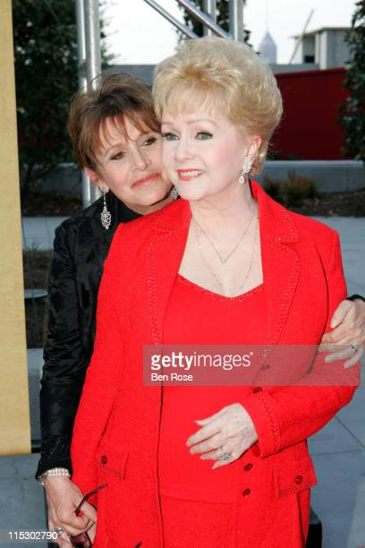 Carrie Fisher and Debbie Reynolds during A Celebrity Roast of Jane Fonda Benefitting the Georgia Campaign for Adolescent Pregnancy Prevention...