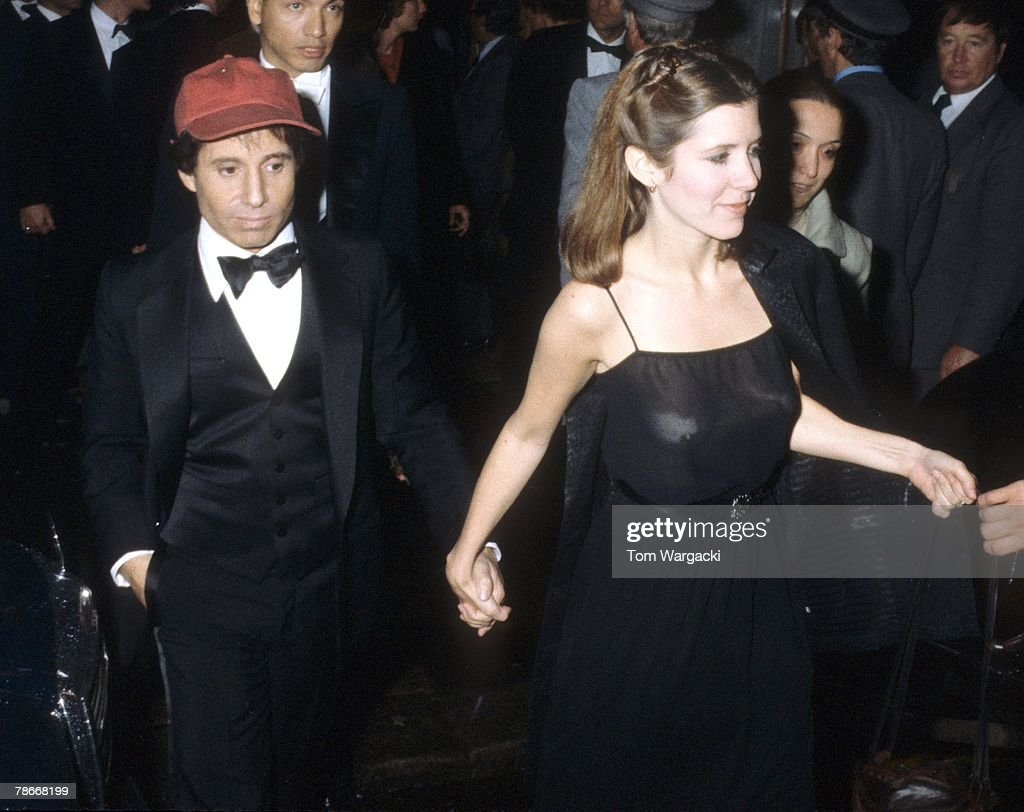 Carrie Fisher and Paul Simon Sighting in London - May 2, 1978