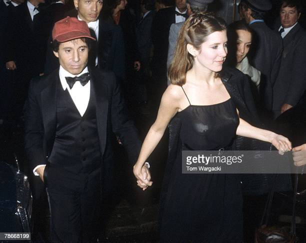 Carrie Fisher and Paul Simon