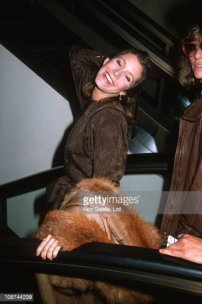 Carrie Fisher during Carrie Fisher Sighted at ABC Entertainment Center January 1 1983 at ABC Entertainment Center in Los Angeles California United...