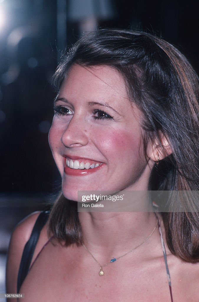 Carrie Fisher during Giorgio Armani Fashion Show - September 19, 1980 at RCA Promenade in New York City, New York, United States.