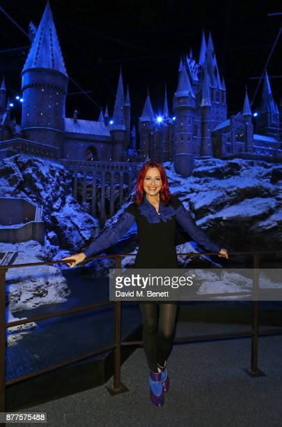 Carrie Grant attends the VIP launch of 'Hogwarts In The Snow' at Warner Bros Studio Tour London The Making Of Harry Potter on November 22 2017 in...