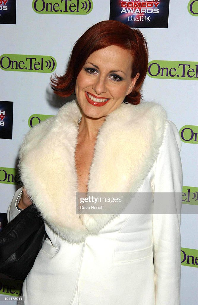 Carrie Grant, British Comedy Awards At Lwt Studios In London, Pressroom