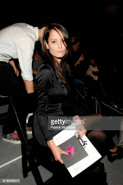 Carrie Hardman attends Richie Rich 2011 Fashion Show at The Studio at Lincoln Center on September 9 2010 in New York City