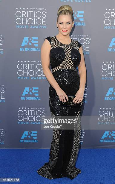 Carrie Keagan arrives at the 20th Annual Critics' Choice Movie Awards at Hollywood Palladium on January 15 2015 in Los Angeles California