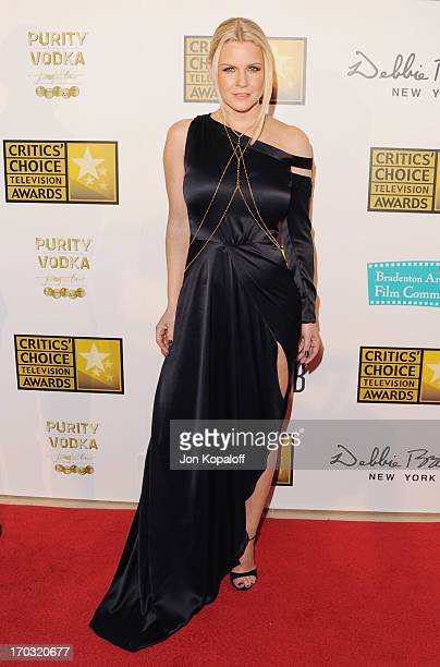 Carrie Keagan arrives at the BTJA Critics' Choice Television Award at The Beverly Hilton Hotel on June 10 2013 in Beverly Hills California