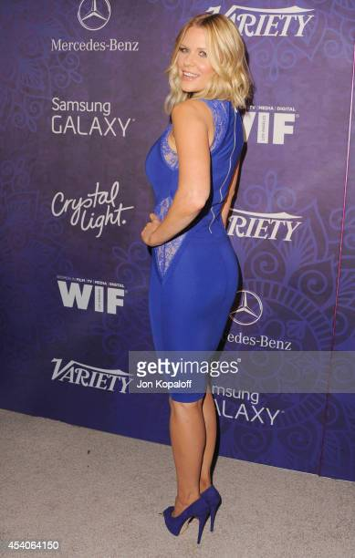 Carrie Keagan arrives at Variety And Women In Film Annual PreEmmy Celebration at Gracias Madre on August 23 2014 in West Hollywood California