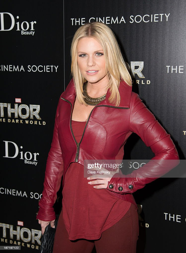<a gi-track='captionPersonalityLinkClicked' href=/galleries/search?phrase=Carrie+Keagan&family=editorial&specificpeople=2247557 ng-click='$event.stopPropagation()'>Carrie Keagan</a> attends a screening of 'Thor: The Dark World' hosted by The Cinema Society And Dior Beauty at 79 Crosby Street on November 6, 2013 in New York City.