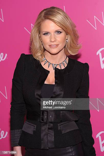 Carrie Keagan attends Barbie The Dream Closet Cocktail Party at David Rubenstein Atrium on February 10 2012 in New York City