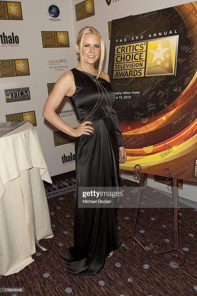 Carrie Keagan attends Critics' Choice Television Awards VIP Lounge on June 10, 2013 in Los Angeles, California.