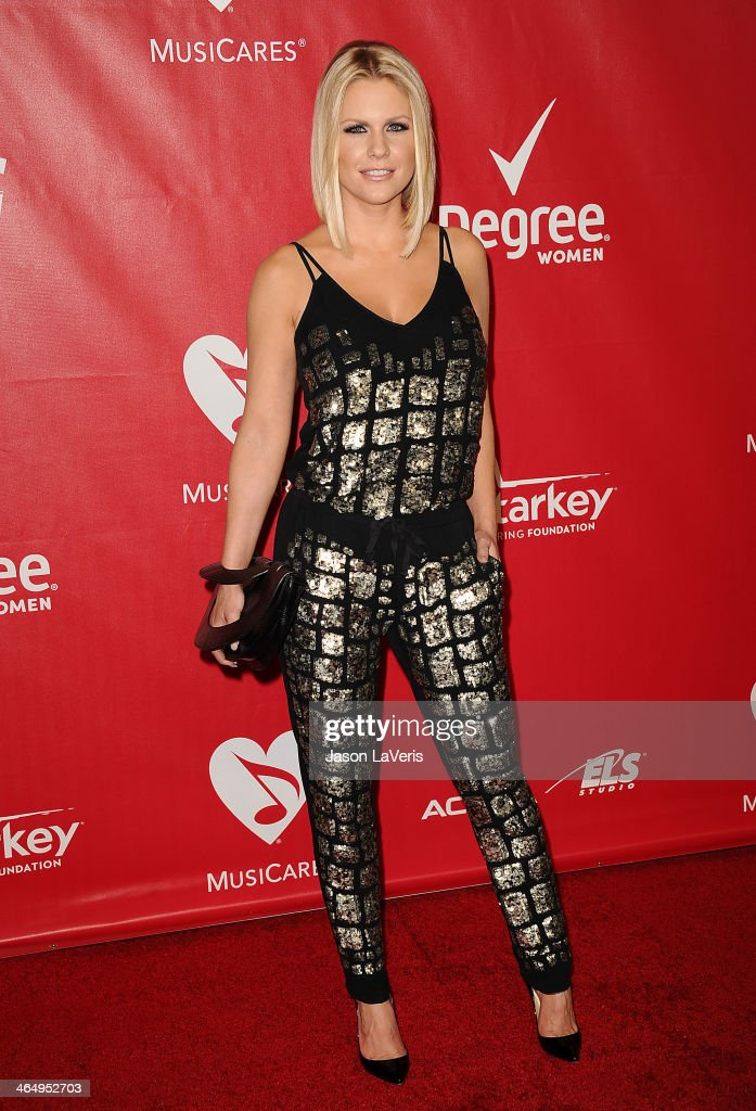 Carrie Keagan attends the 2014 MusiCares Person of the Year honoring Carole King at Los Angeles Convention Center on January 24, 2014 in Los Angeles, California.