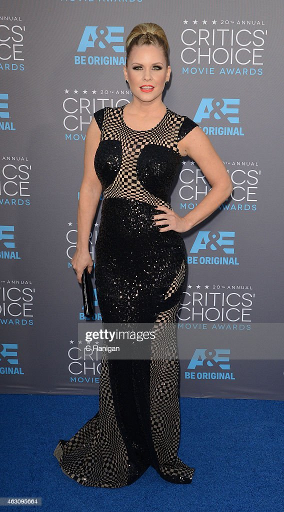 Carrie Keagan attends The 20th Annual Critics' Choice Movie Awards at Hollywood Palladium on January 15, 2015 in Los Angeles, California.