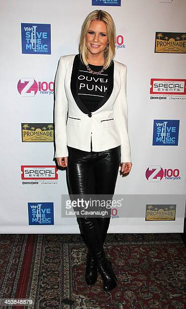 Carrie Keagan attends the 3rd Annual Rock the Schools Concert Benefiting VH1 Save The Music Foundation at Gramercy Theatre on December 5 2013 in New...