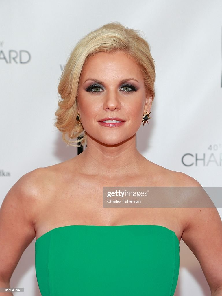 Carrie Keagan attends the 40th Anniversary Chaplin Award Gala at Avery Fisher Hall at Lincoln Center for the Performing Arts on April 22, 2013 in New York City.