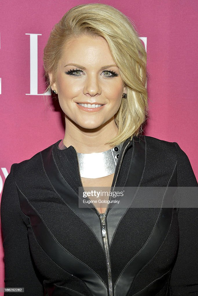 Carrie Keagan attends the 4th annual ELLE Women in Music Celebration at The Edison Ballroom on April 10, 2013 in New York City.