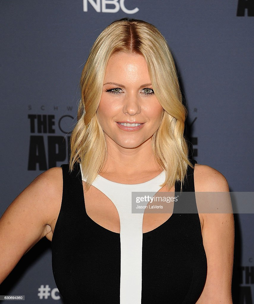 Carrie Keagan attends the press junket For NBC's 'Celebrity Apprentice' at The Fairmont Miramar Hotel & Bungalows on January 28, 2016 in Santa Monica, California.