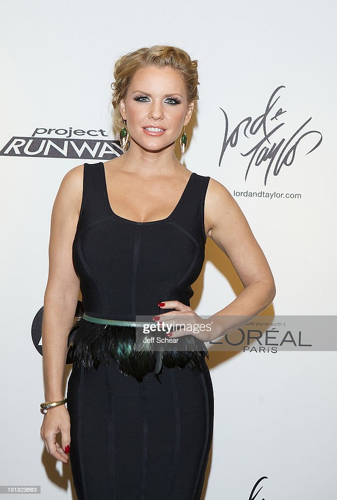 Carrie Keagan attends the Project Runway Season 10 Wrap Party at Lord & Taylor on September 5, 2012 in New York City.