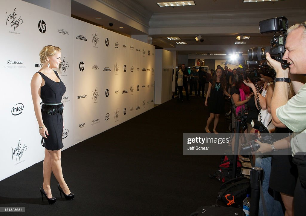 <a gi-track='captionPersonalityLinkClicked' href=/galleries/search?phrase=Carrie+Keagan&family=editorial&specificpeople=2247557 ng-click='$event.stopPropagation()'>Carrie Keagan</a> attends the Project Runway Season 10 Wrap Party at Lord & Taylor on September 5, 2012 in New York City.