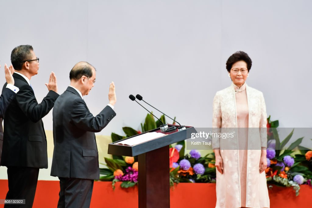 Xi Jinping Visits Hong Kong For 20th Anniversary Of The City's Handover
