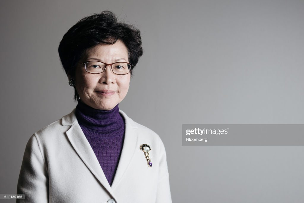 Former Hong Kong Chief Secretary Carrie Lam Interview