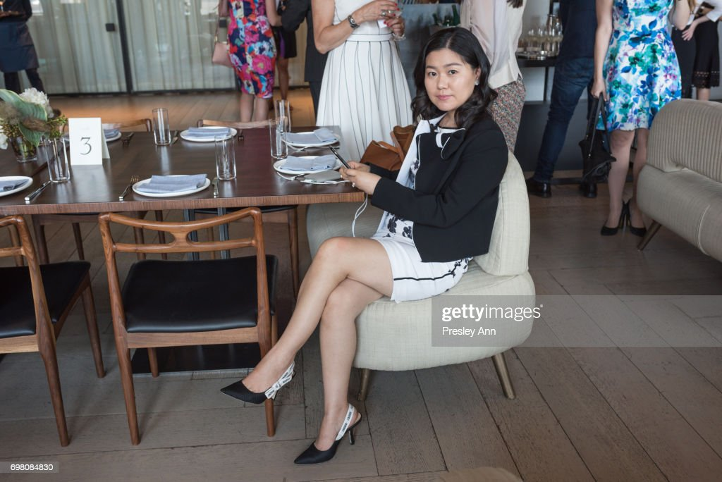 Carrie Liqun Liu attends Special Women's Power Lunch Hosted by Tina Brown at Spring Place on June 19, 2017 in New York City.