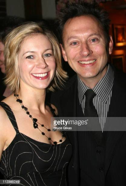 Carrie Preston and Michael Emerson of 'Lost' during 'Festen' Broadway Opening Night After Party at Opening Night Curtain Call and Party for 'Festen'...